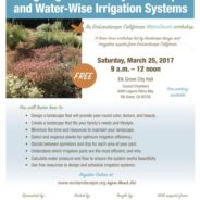 Eco-Friendly Landscape Workshop March 25th!